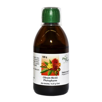 Oleum Ricini PhytoPharm, płyn doustny, 100 g