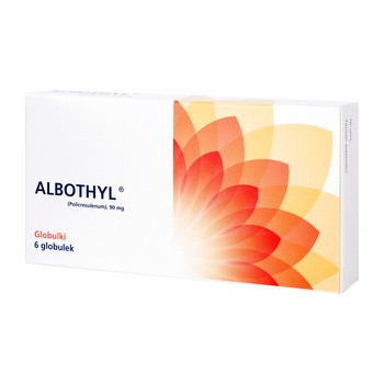 Albothyl, 90 mg, globulki dopochwowe, 6 szt.