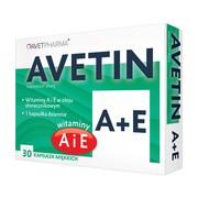 Avetin A + E, kapsułki miękkie, 30 szt.