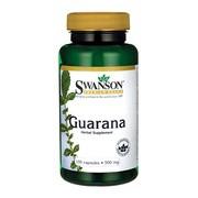 Swanson Guarana, kapsułki, 100 szt.