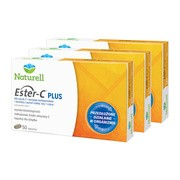 Zestaw 3x Naturell Ester-C Plus, tabletki, 50 szt.