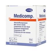 Kompres włóknisty jałowy Medicomp, 4 warstwowy, 5 cm x 5 cm, 50 szt.