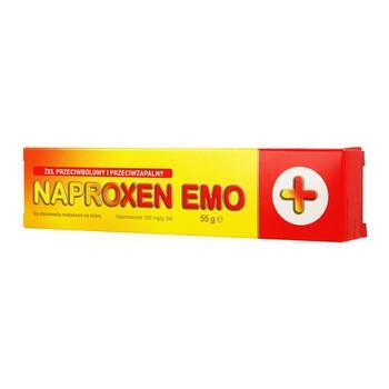 Naproxen Emo, 100 mg/g, żel, 55 g