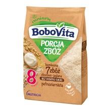 BoboVita Porcja Zbóż, kaszka bezmleczna 7 zbóż, zbożowo-jaglana, 8 m+, 170 g