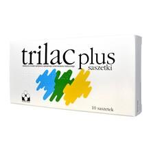 Trilac Plus, proszek, 10 saszetek