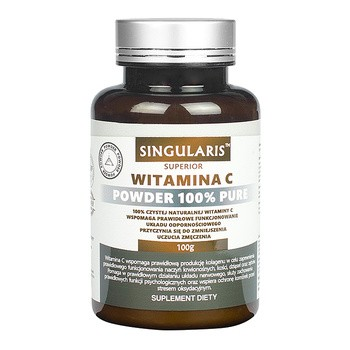 Singularis Witamina C Powder 100% Pure, proszek, 100 g