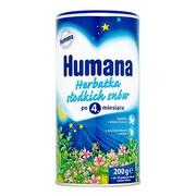 Humana Herbatka słodkich snów, granulat, 4 m+, 200 g