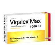 Vigalex Max, 4000 IU, tabletki, 60 szt.