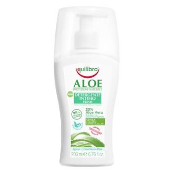 Equilibra, odświeżający żel do higieny intymnej, 200 ml