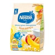 Nestle, kaszka mleczno-ryżowo-kukurydziana, banan, jabłko, morela, Dzień dobry, 230 g