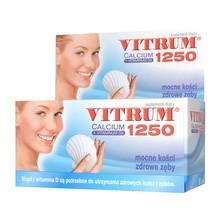 Vitrum Calcium 1250 + Vitaminum D3, tabletki, 60 szt.