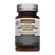 Singularis Naturalna Multiwitamina Organic, kapsułki, 30 szt.