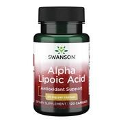 Swanson ALA kwas alfa liponowy 50 mg, kapsułki, 120 szt.