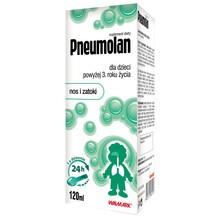 Pneumolan, płyn dla dzieci powyżej 3 roku życia, 120 ml
