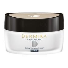 Dermika Hydralogiq 30+, krem hydra-odżywczy na noc, 50 ml
