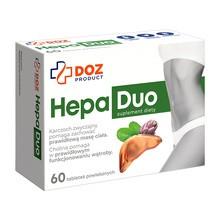 DOZ PRODUCT HepaDuo, tabletki powlekane, 60 szt.