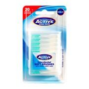 Active oral care, silikonowe czyściki międzyzębowe, 20 szt.