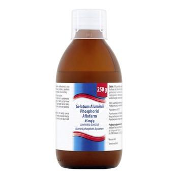 Gelatum Aluminii phosphorici, zawiesina doustna, 250 g (Aflofarm)
