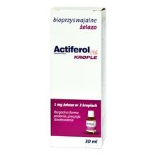 ActiFerol Fe krople, zawiesina doustna, 30 ml