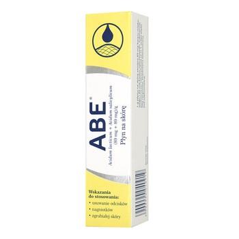 ABE, (89 mg+89 mg/g), płyn na skórę, 8 g