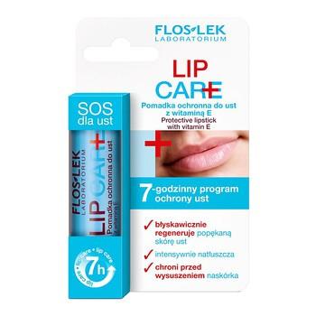 FlosLek Laboratorium Lip Care, pomadka ochronna do ust z witaminą E 1%, 1 szt.