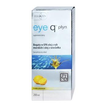 Eye Q, płyn o smaku cytrynowym, 200 ml (Qpharma)