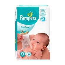 Pampers ProCare, pieluchy dla dzieci, rozmiar 0, (1-2,5 kg), 38 szt.
