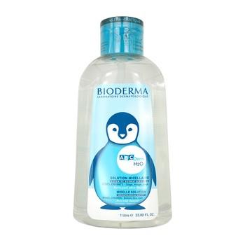 Bioderma ABCDerm H2O, płyn micelarny do oczyszczania skóry niemowląt i dzieci, 1 l