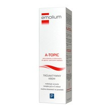 Emolium A-Topic, trójaktywny krem, 50 ml