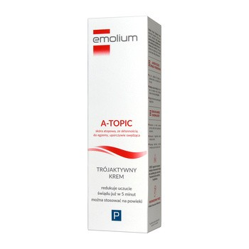 Emolium A-Topic, trójaktywny krem, 50 ml