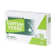 Tantum Verde smak miętowy, 3 mg, pastylki twarde, 30 szt.