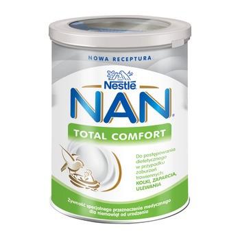 Nestle Nan Expert Total Comfort, kolki, zaparcia, ulewania dla niemowląt od urodzenia, 400 g