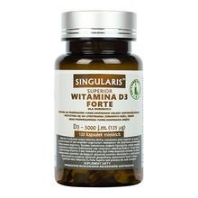 Singularis Witamina D3 Forte 5000 IU,125 mcg, kapsułki miękkie, 120 szt.