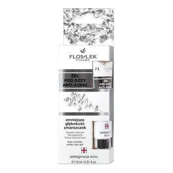 FlosLek Pharma, żel pod oczy anti-aging, 15 ml