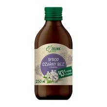 DOZ Zielnik Syrop Czarny bez z kwiatów, 250 ml