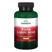 Swanson ALA kwas alfa liponowy, 300 mg, kapsułki, 120 szt.
