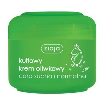 Ziaja, naturalny krem oliwkowy, cera sucha i normalna, 50 ml