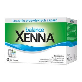 Xenna Balance, proszek do sporządzania roztworu doustnego, 20 saszetek