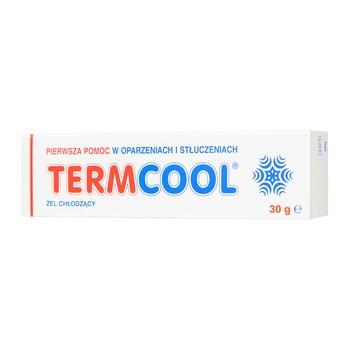 Termcool, żel chłodzący po oparzeniu, 30 g