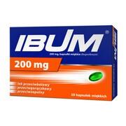 Ibum, 200 mg, kapsułki elastyczne, 10 szt.