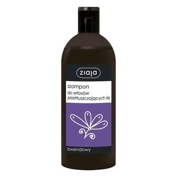 Ziaja Szampony rodzinne, szampon do włosów przetłuszczających się, lawendowy, 500 ml