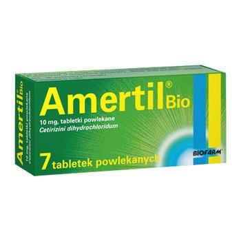 Amertil Bio, 10 mg, tabletki powlekane, 7 szt.