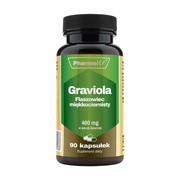 Pharmovit Graviola Flaszowiec miękkociernisty, 400 mg, kapsułki, 90 szt.