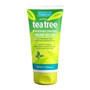 Beauty Formulas, oczyszczający peeling do twarzy Tea Tree, 150 ml
