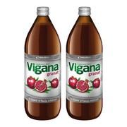Vigana Granat, sok, 1000 ml x 2 opakowania