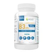 Wish Witamina B3 + L-leucyna + prebiotyk, kapsułki, 120 szt.