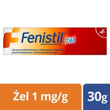 Fenistil 0.1%, żel, (1 mg / g), 30 g