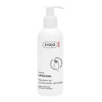 Ziaja Med Kuracja Lipidowa Fizjoderm, żel oczyszczający do demakijażu, 200 ml