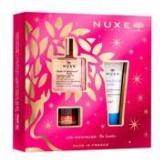Zestaw Promocyjny NUXE Bestsellery Huile Prodigieuse® Florale, suchy olejek, 50 ml + balsam do ust Reve de Miel, 15 g + krem nawilżający 48h Fraiche de Beaute, 30 ml