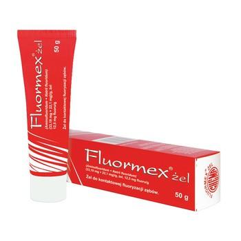 Fluormex, (33,19 mg + 22,1 mg)/g, żel, 50 g